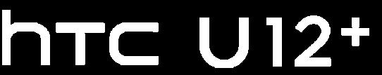 HTC U12+ Logo