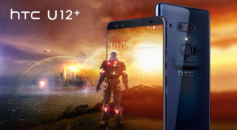 HTC U12+ und HTC U11
