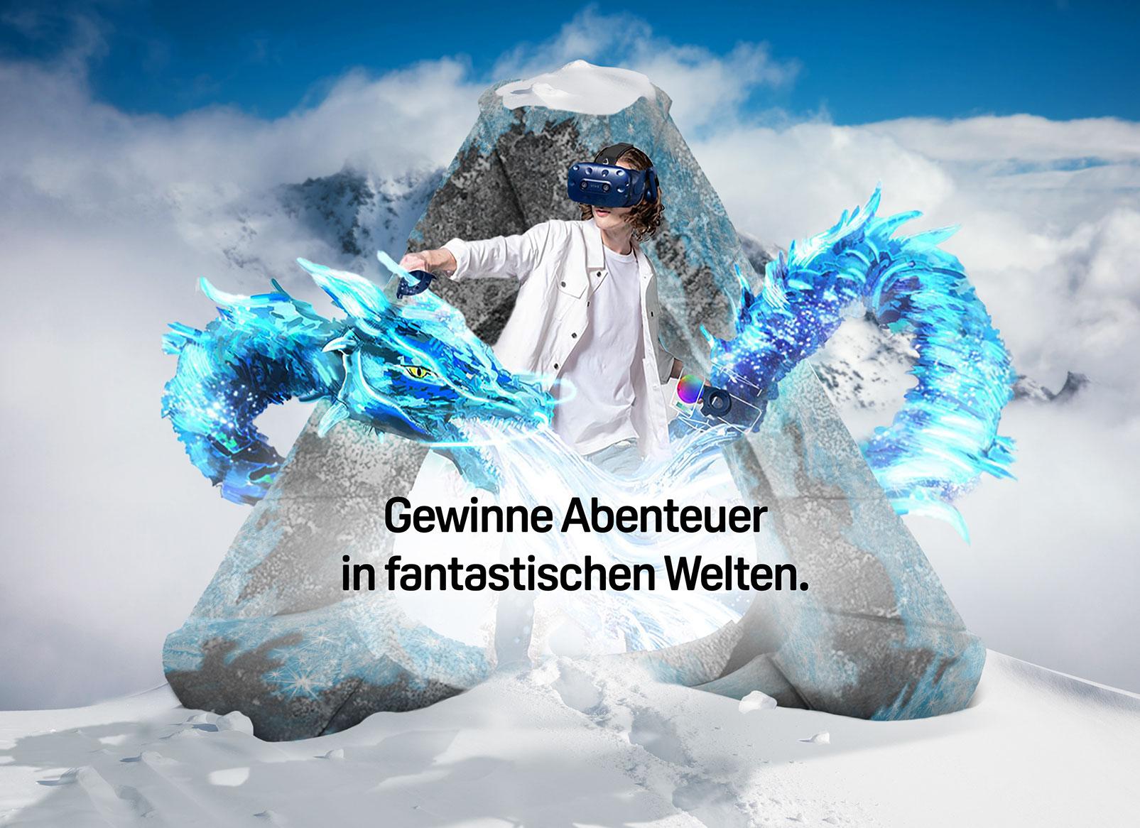 Gewinne Abenteuer in fantastischen Welten.
