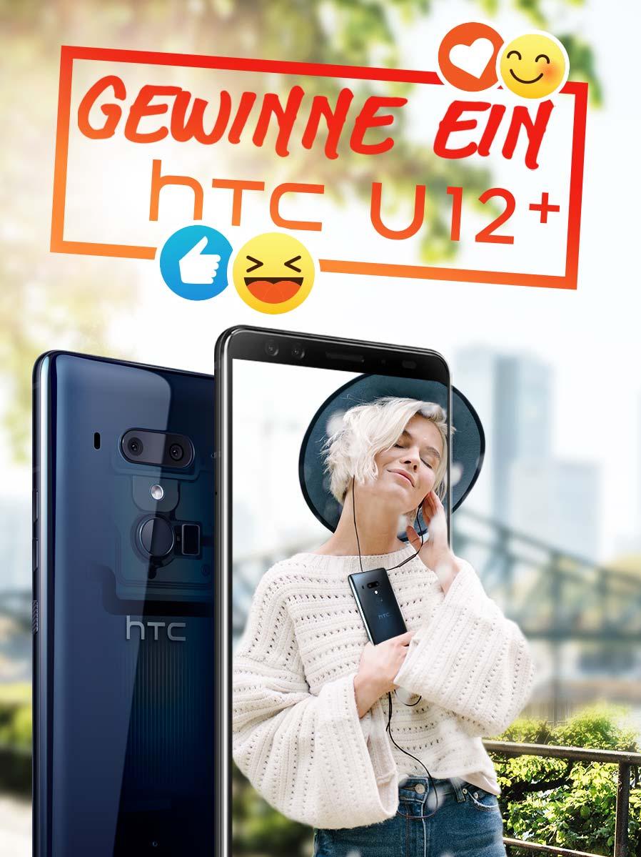 Gewinne ein HTC U12+