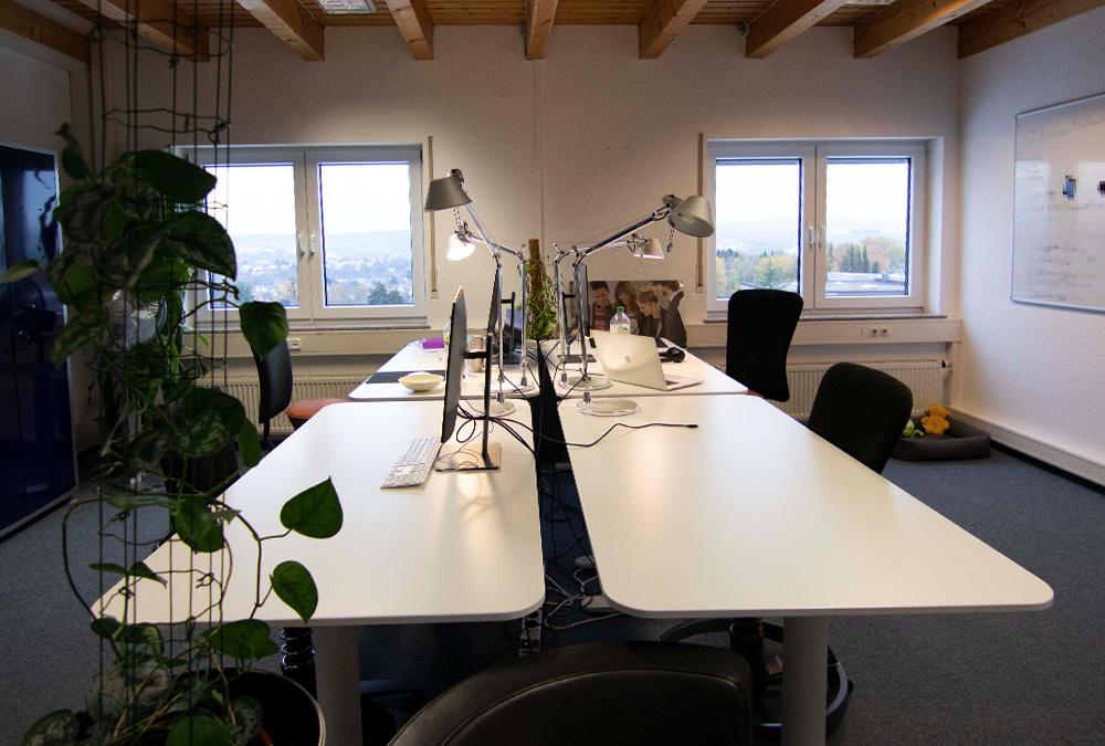 Coworking Space in Idstein mit Mietbüros und Schreibtischen